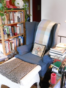 Early Eclectic Reading Nook